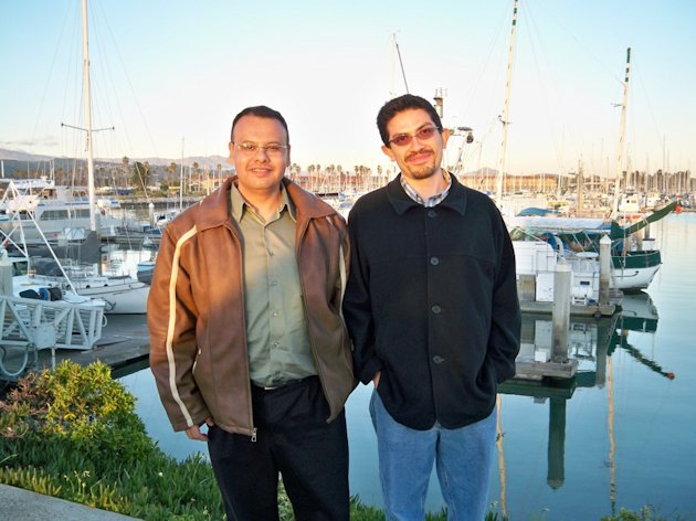 Picture of Franco and Ramirez at the Oxygen Meeting 2010.